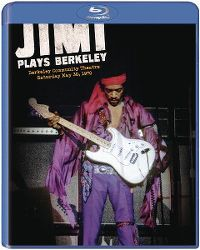 Cover Jimi Hendrix - Jimi Plays Berkeley [DVD]
